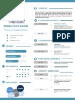 Curriculum Profesor Plantilla 1 PDF