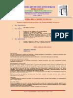 Especificación Técnica - Proyecto Constr. Polifuncional u.e. Felipe Pizarro - Guaraya