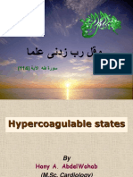 Hypercogulable States
