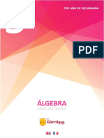 5to año de secundaria - ÁLGEBRA Libro de Teoría