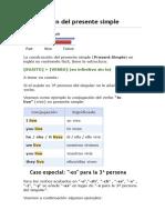 Conjugación del presente simple.docx