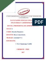 Actividad n 6 - Derecho Financiero