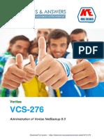 Killexams VCS 276
