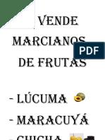 Se Vende Marcianos