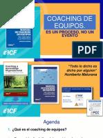 Coaching de Equipos. Es Un Proceso, No Un Evento. 11.3.2019