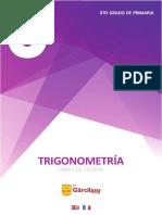 6to grado de primaria - TRIGONOMETRÍA Libro de Teoría