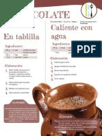 Chocolate Tablilla