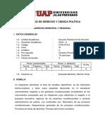 0705-07312 Sílabo Derecho Municipal y Regional