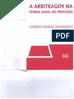 Cândido Rangel DINAMARCO - A Arbitragem Na Teoria Geral Do Processo - Sentença Arbitral e Seus Efeitos
