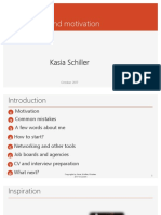 Networking Kasia Schiller October 2017 ZH