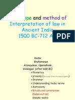 Interpretation of Law