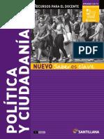 politica y ciudadanía 5° año