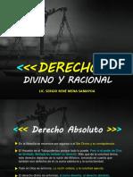 Derecho Divino y Racional