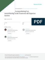 Introducción a La Neurobiología y Neurofisiología Del TEA (Acosta, Guzman, Sesarini, Pallia & Quiroz, 2016)