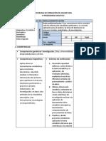 Programa Formativo Estadistica Descriptiva