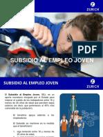 11.- Subsidio Al Empleo Joven