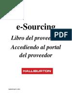 SAP e-Sourcing Supplier Playbook (Espanol) HALLIBURTON.pdf