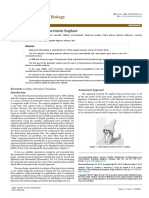Evolution in Knee Replacement Implant