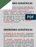 Síndromes Geriátricas