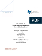 Texas Star PR Research Report