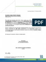 Carta Termino FA