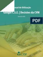 Manual de pesquisa de jurisprudência na CVM - nova ferramenta