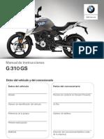 Manual BMW G310 GS