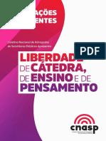 Cartilha Liberdade Catedra