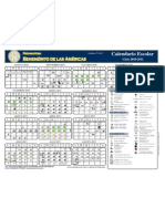 Calendario académico Bde A
