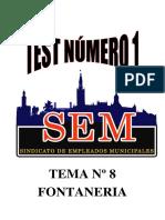 Test Fontanería Nº 1 Logo Sem
