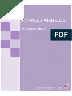 Finances Publiques - Cours