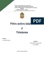 Filtro Activo Básico Daniel