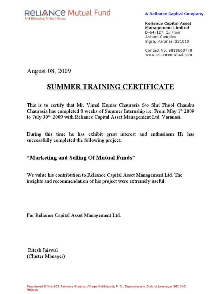 Summer training certificate 1534236564v1 yelopaper Choice Image