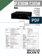 Sony cdp--c305m