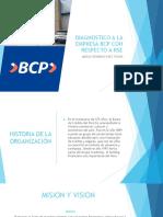 Responsabilidad Social Empresarial de BCP