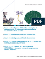 Formation _ PDF _ Intelligence Artificielle