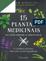 15 plantas medicinais