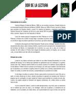 Ficha Del Mediador El Fuego Verde