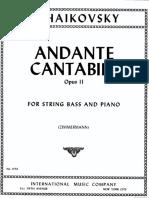 Tchaikosvky's Andante