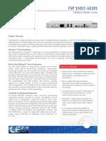 Adva FSP 150CC-GE201 Data Sheet