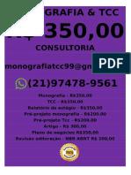 Monografia e Tcc R$ 310,00 whatsapp (21) 97478-9561 monografiatcc99@gmail.com(1)-mesclado-compactado (2)