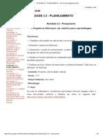 ATIVIDADE 2.2 - PLANEJAMENTO - Rede de Aprendizagem_franciele