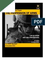 Profession of Arms White Paper Dec2010