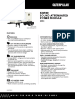 XQ500 Spec Sheet