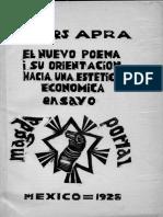 Magda Portal - El nuevo poema i su orientación hacia una estética económica