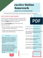 interactive online homework