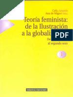 Amorós y Cobo - Feminismo e Ilustración (frag), en Teoría feminista.pdf