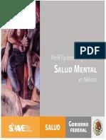 1201 APSE. Lectura 1 Unidad 2 SSA. Perfil epidemiologico de la Salud Mental en México.pdf