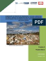 Aterro Sanitário - Projeto Básico