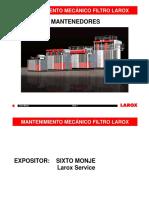 Mantenimiento mecanico PF60